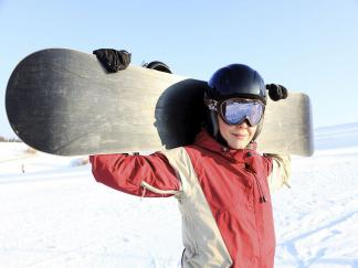 Snowboard à Courchevel - Noël / Savoie